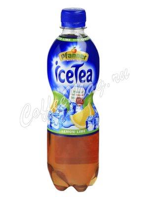 Холодный чай Pfanner Ice Tea Лимон-Лайм 500 мл