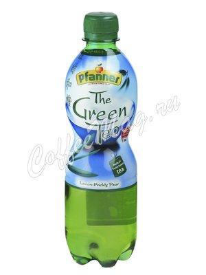 Холодный чай Pfanner Ice Tea зеленый Лимон-Кактус 500 мл
