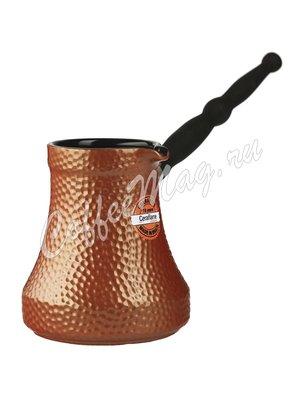 Турка керамическая Ceraflame Ibriks Hammered 500 мл медный цвет (D9429)