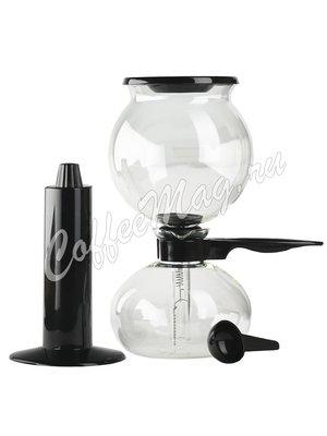 Кофеварка вакуумная Bodum Pebo черная 1л (1208-01)