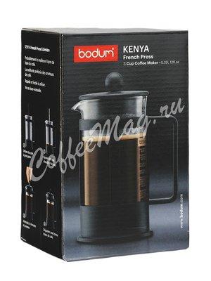 Френч-пресс Bodum Kenya черный 350 мл (1783-01LID)