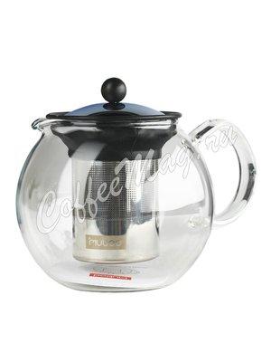 Чайник заварочный с прессом хром Bodum Assam 1л (1801-16)