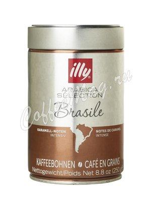 Кофе Illy в зернах Monoarabica Brazil 250 гр