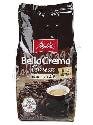 Кофе Melitta в зернах Bella Crema Espresso 1 кг