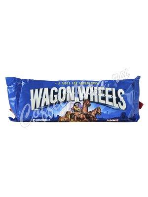 Бисквитное Печенье с джемом Wagon Wheels 228 г