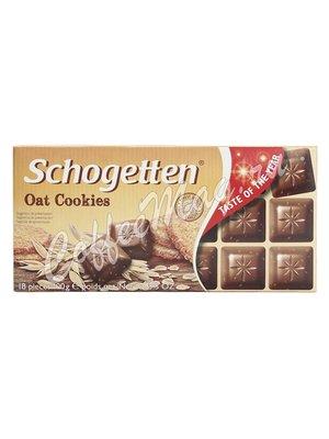 Шоколад Schogetten Oat Cookies с овсяным печеньем 100 гр