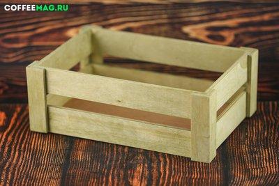Ящик салатовый 29х18х10 средний