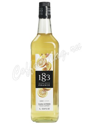 Сироп 1883 Maison Routin Юзу Японский лимон 1л