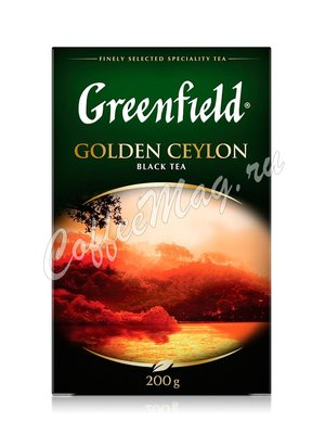 Чай Greenfield Golden Ceylon черный  200 г