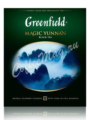 Чай Greenfield Magic Yunnan черный в пакетиках 100 шт.
