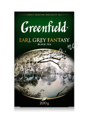 Чай Greenfield Earl Grey Fantasy черный  200 г