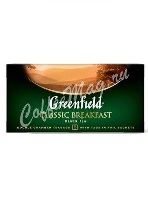 Чай Greenfield Classic Breakfast черный в пакетиках 25 шт.