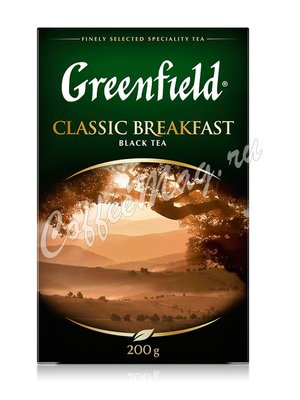 Чай Greenfield Classic Breakfast черный 200 г