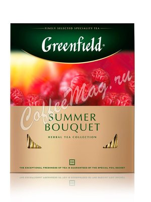 Чай Greenfield Summer Bouquet травяной в пакетиках 100 шт.