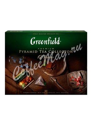 Greenfield Подарочный набор чая, пирамидки 12 видов 110 г