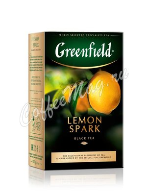 Чай Greenfield Lemon Spark черный 100 г