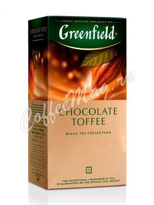 Чай Greenfield Chocolate Toffee черный в пакетиках 25 шт.