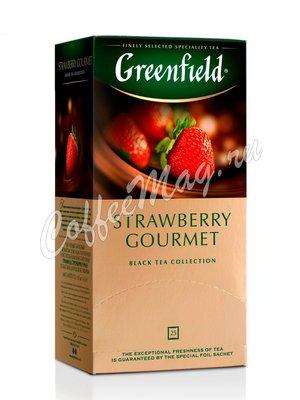 Чай Greenfield Strawberry Gourmet черный в пакетиках 25 шт.