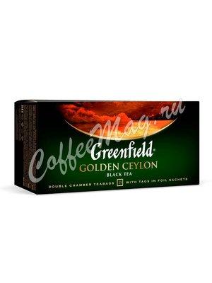 Чай Greenfield Golden Ceylon черный в пакетиках 25 шт.
