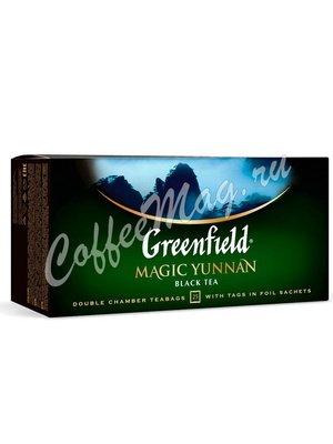 Чай Greenfield Magic Yunnan черный в пакетиках 25 шт.