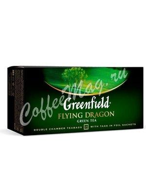 Чай Greenfield Flying Dragon зеленый в пакетиках 25 шт.