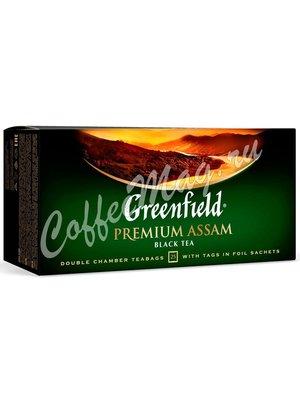 Чай Greenfield Premium Assam черный в пакетиках 25 шт.