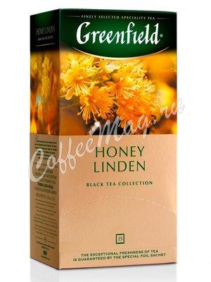 Чай Greenfield Honey Linden черный в пакетиках 25 шт.