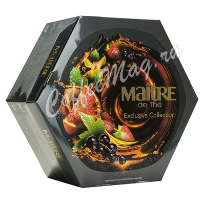 Подарочный набор чая Maitre Platinum Edition  60 г