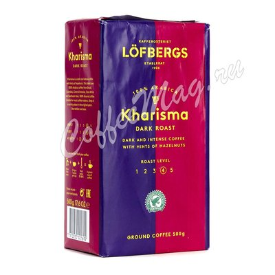 Кофе Lofbergs Kharisma молотый 500 г