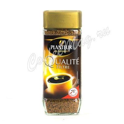 Кофе Planteur des Tropiques Qualite Filtre растворимый, стекло 100 г