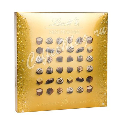 Шоколадные конфеты Lindt Mini Pralines Пралине Голд Мини 180 г