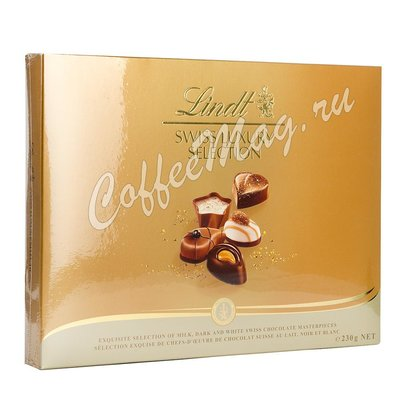 Шоколадные конфеты Lindt  Swiss Luxury Пралине 230 г