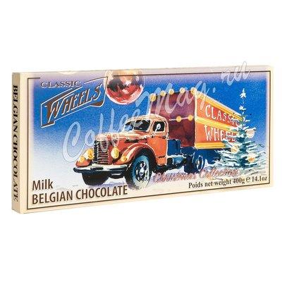 Шоколад Belgian Beyond Classic Wheels Xmas Трюфели микс 200 г