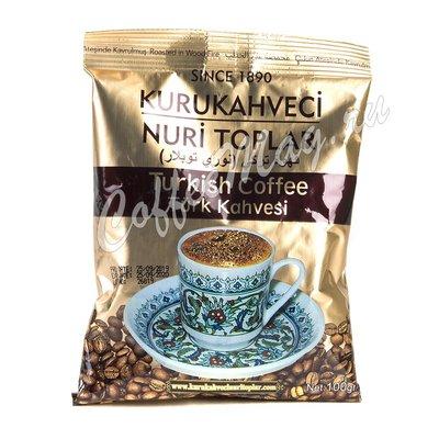 Кофе Kurukahveci Nuri Toplar молотый 100 г