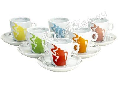 Чашка Hausbrandt для капучино (6 вариантов цветов)