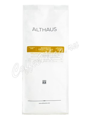 Чай Althaus листовой  Roibush Sweet Orange травяной 250 г