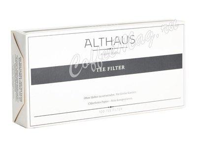 Фильтры пакеты для заваривания чая Althaus 100 шт