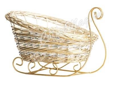 Декоративные корзины (Сани) средние (177-126)