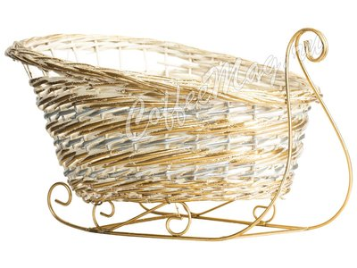 Декоративные корзины (Сани) большие (177-126)