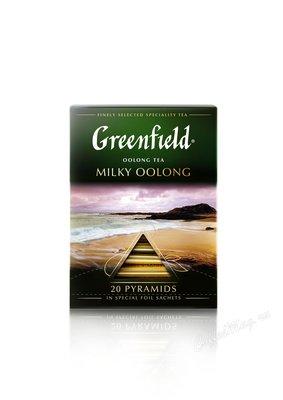 Чай Greenfield Milky Oolong молочный улун в пирамидках 20 шт.