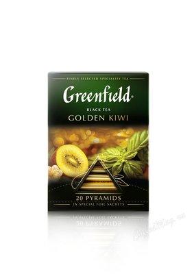 Чай Greenfield Golden Kiwi черный в пирамидках 20 шт.