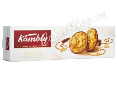 Kambly Florentin Печенье с миндалем в карамели и шоколадом 100 г