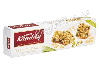 Kambly Eclats de Pistaches Печенье с фисташками и миндалем 80 г