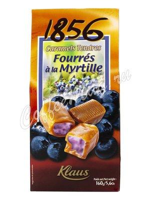 Карамель Klaus с начинкой из черники 160 г