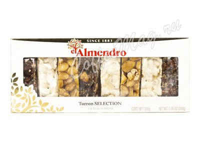 El Almendro  Набор ассорти из 3 видов туррона 200 г