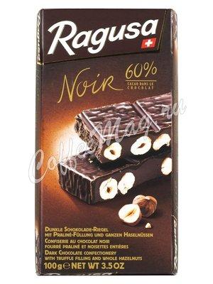 Ragusa Noir Горький шоколад с орехами 100 г
