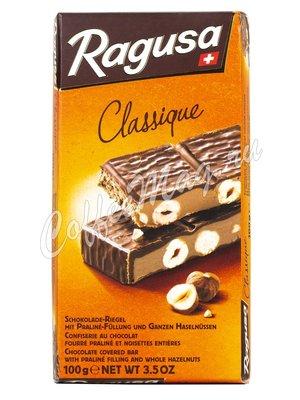 Ragusa Молочный шоколад с трюфельной начинкой и орехами 100 г