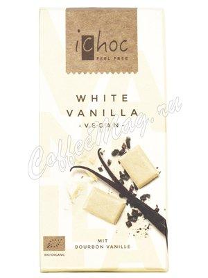 iChoc Шоколад органик веганский Белый на рисовом молоке 80 г