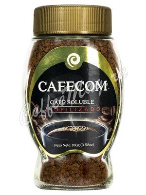 Кофе Cafecom растворимый гранулированный 100 гр стекло