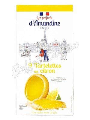 Les Preferes d`Amandine Тарталетки с клубникой 125 г